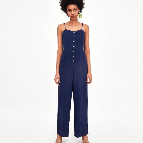 a487ddedd50 Zara Rustic Jumpsuit NWOT. M 5afc879c72ea880af031ee5d